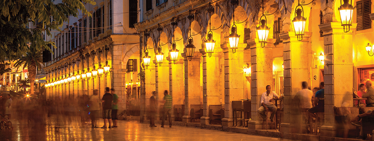 3-Corfu-Town-The-Liston-Square